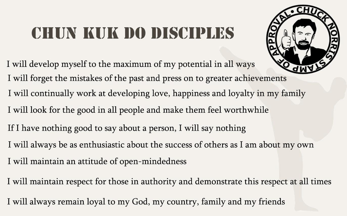 Chun Kuk Do Disciples