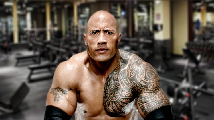 Dwayne The Rock Johnson Work Out - Street Workout - Routines